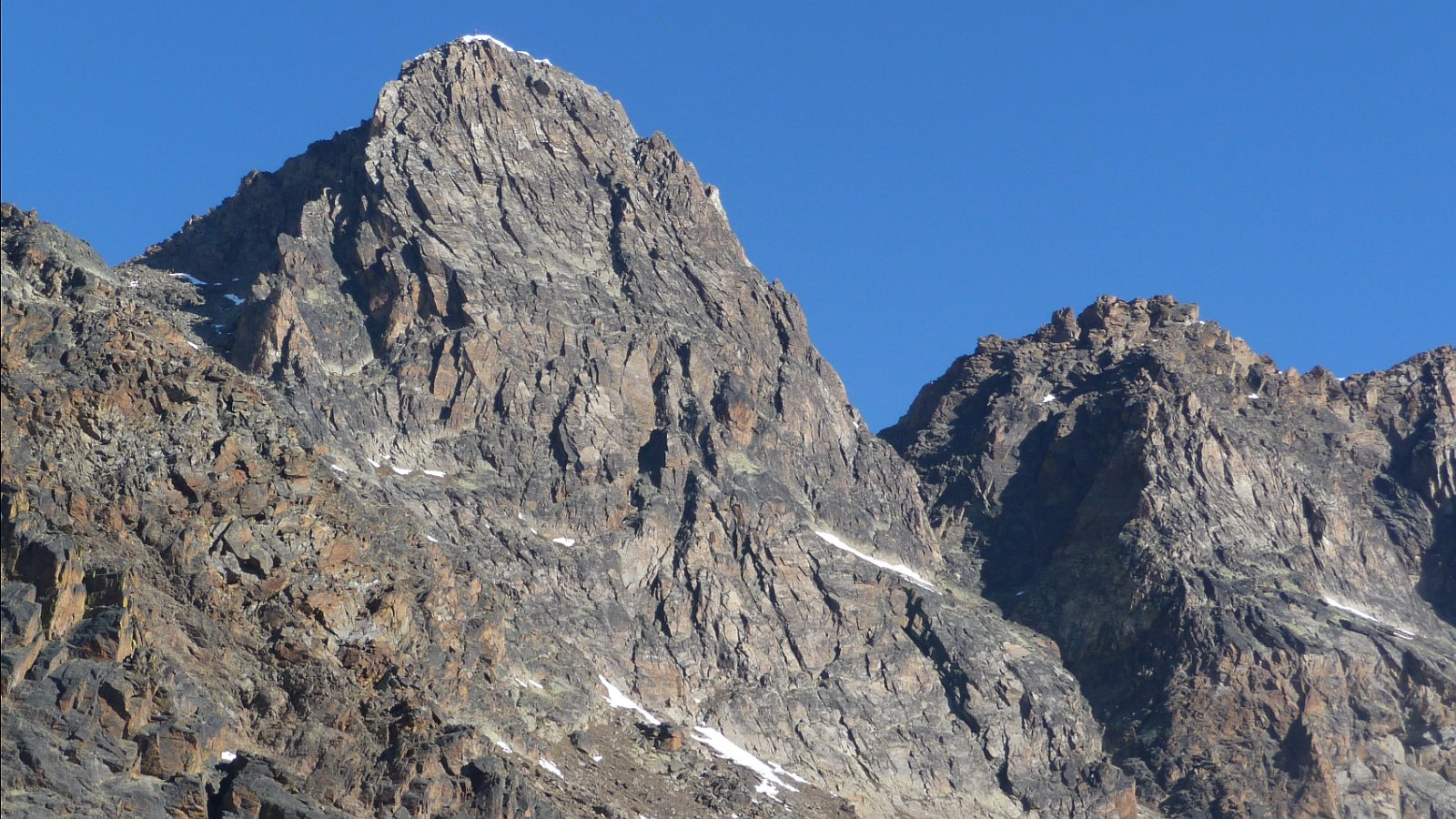 Klettersteig Jegihorn : Jegihorn 3206 m weissmieshütte