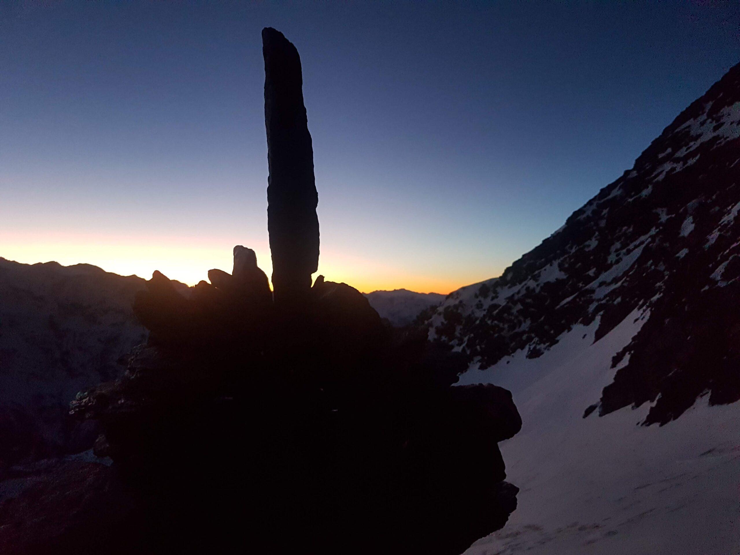 Sonnenaufgang Lagginjoch